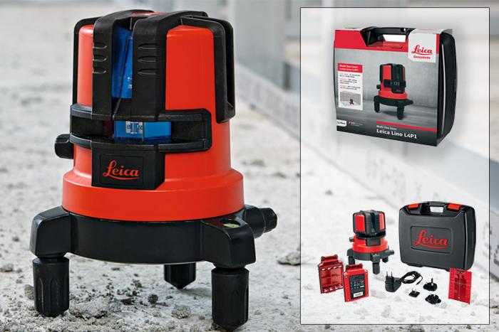 Livella laser leica lino l4p1 metri laser leica disto - Laser per piastrellisti ...