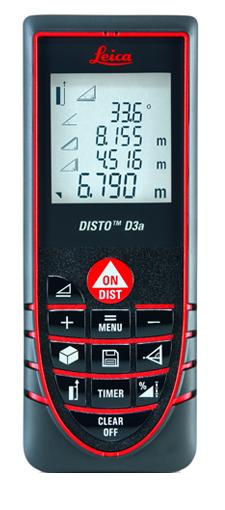 metro laser leica  Distanziometro laser Disto D3a - Metri Laser Leica DISTO