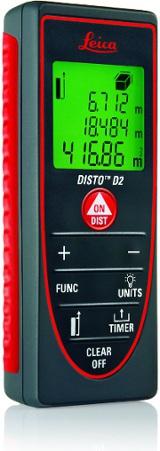 metro laser leica  Distanziometro Laser Disto D2 - Metri Laser Leica DISTO